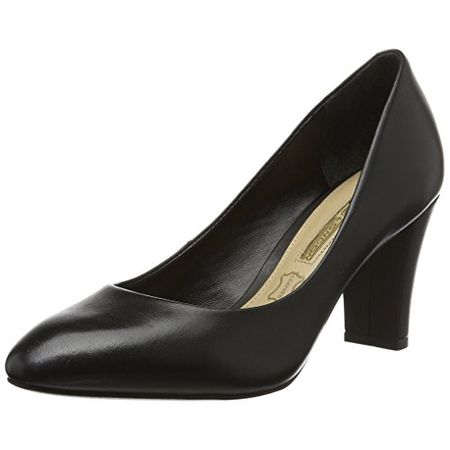Buffalo London Damen ZS 5700 15 Semi Cromo Pumps, Schwarz (Black 01), 36 EU