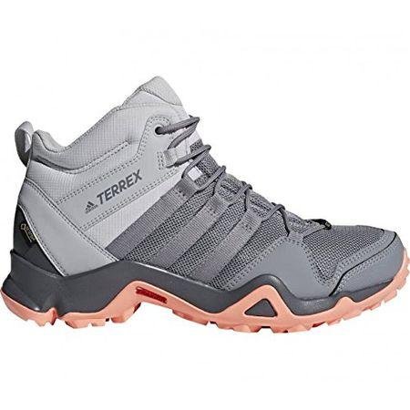 adidas Damen Terrex AX2R Mid GTX Trekking-& Wanderstiefel, Grau  (Gridos/Gritre/Cortiz 000), 39 1/3 EU