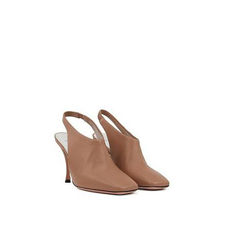Flat Sandals Leather Sole With Contrast tCxshBQdr