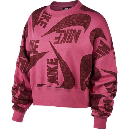 Nike Sportswear Sweatshirt NSW Icon Clash Sweatshirts rosa Damen