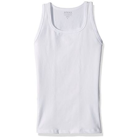 a612ed0395d92 Spanx For Men Cotton Compression Tank-Top - Weiss XL