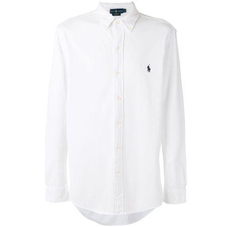 bd23a3bf3cc60d Polo Ralph Lauren Hemd mit Logo-Stickerei - Weiß