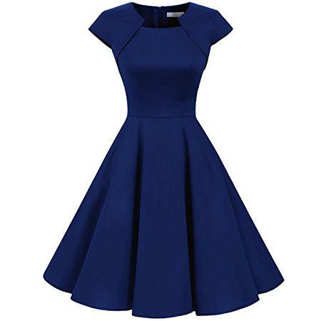 Kleider In Blau Luxodo