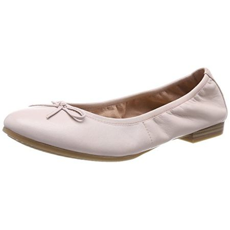 Tamaris Damen 22116 Ballerinas, Pink (Rose Leather), 39 EU