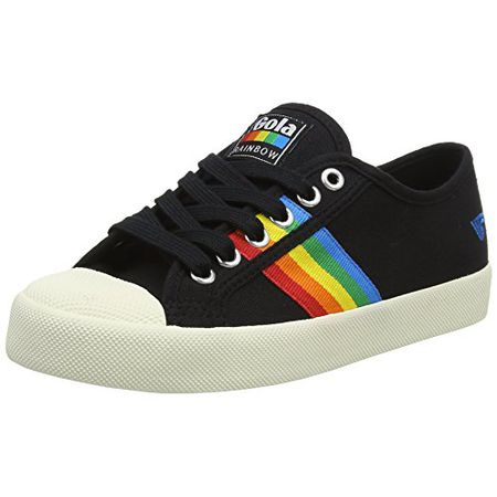 Bz37 SneakerSchwarzblackmulti Eu Coaster Blackmulti Rainbow Gola Damen P0Oknw