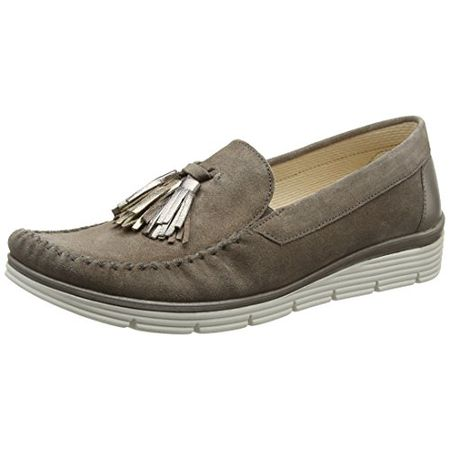 Gabor Shoes Damen Comfort Mokassin, Braun (WallabyMutaro 32), 37 EU
