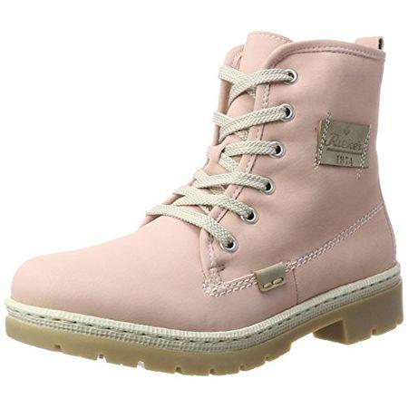 Rieker Damen Y9410 Stiefel, Pink (RosaNebel), 37 EU