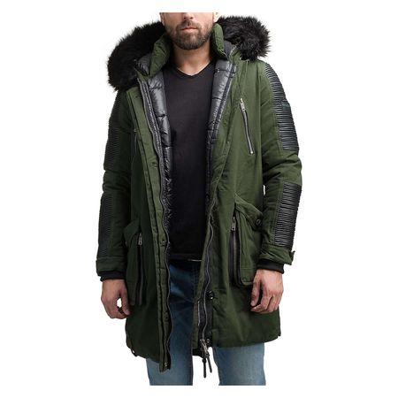 Marikoo Herren Winter Jacke Mantel Winterparka Warrior No 1 5 Farben S 3XL