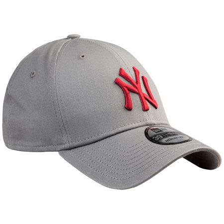 New Era 39Thirty MLB League Essential New York Yankees Cap grau rot Herren 7ecf8f9e7a