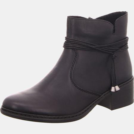 Rieker Agatha K4370 Stiefeletten & Boots grau Damen Schuhe