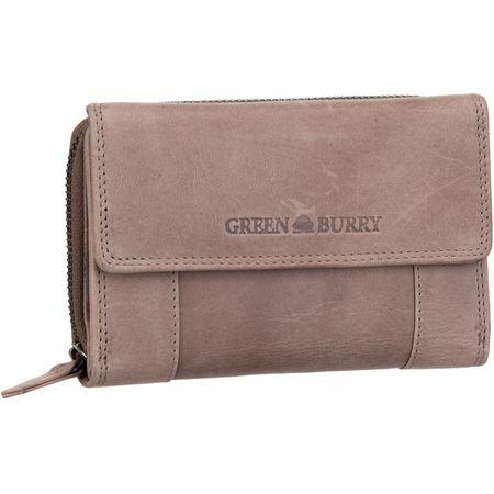 Greenburry GBVT 2906 Damenbörse Kellnerbörse Leder Damen Geldbörse Portemonnaie