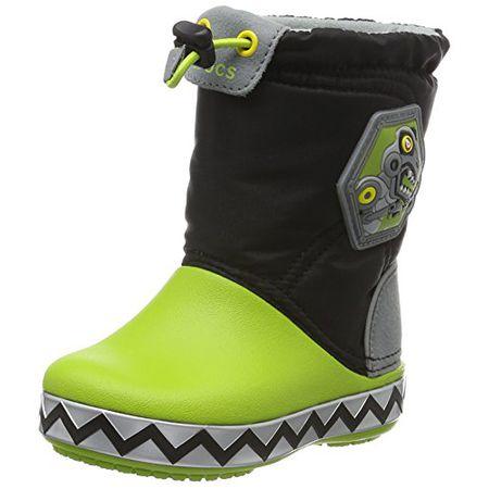 the latest cac13 eac00 crocs Handle It Rain Boot, Unisex - Kinder Gummistiefel, Gelb (Yellow),  33/34 EU
