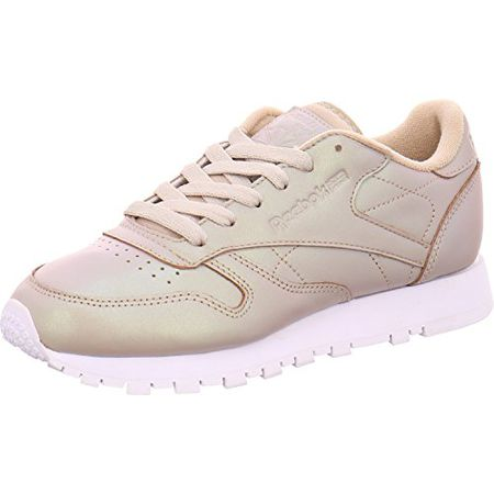 Reebok Classic Leather Pearlized Damen Sneaker Gold