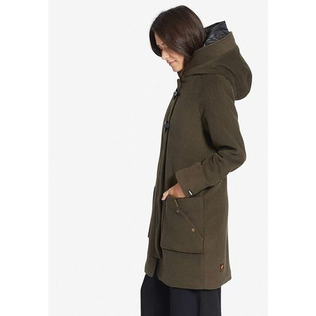 khujo Mantel MADDI WITH DETACHABLE INNER HOOD Mäntel oliv Damen