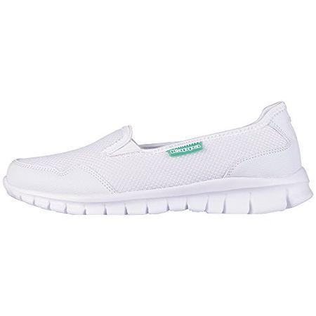 Kappa Gomera Footwear Women, MeshSynthetic, Damen Geschlossene Ballerinas, Weiß (1037 WhiteMint), 36 EU (3.5 Damen UK)