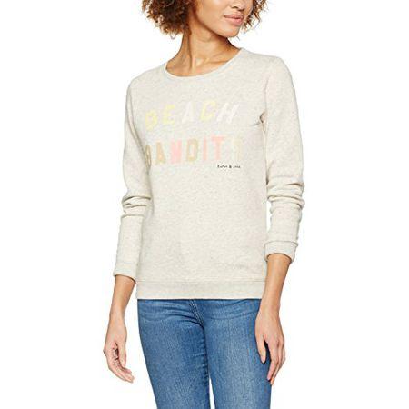 Scotch /& Soda Damen Sweat with Various Artworks Sweatshirt