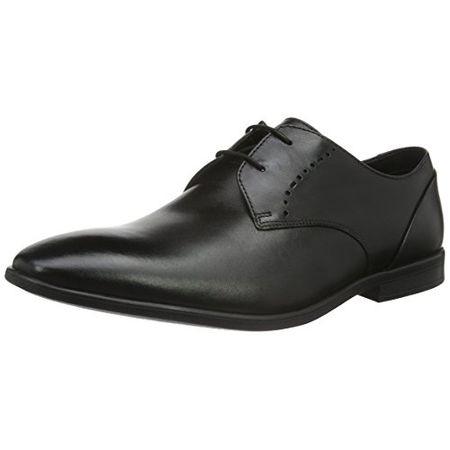 Clarks Herren Tilden Zip Chelsea Boots, Schwarz (Black Leather ), 42.5 EU