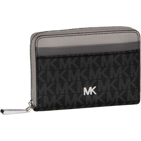 83a99d5083b51 Michael Kors Geldbörse Mercer ZA Coin Card Case MK Signature Black Multi