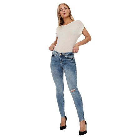 86bcc026dac4d0 VERO MODA FIVE - Super Skinny Fit - Dark Blue