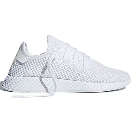 cheap for discount ba02b c5691 adidas Deerupt Runner. Schuhe Damen. Sneaker Moda 2018 (38 EU, FTWR White