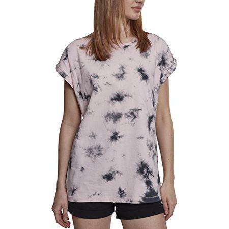 47e2efa2c39e59 Urban Classics Damen T-Shirt Ladies Batic Extended Shoulder Tee
