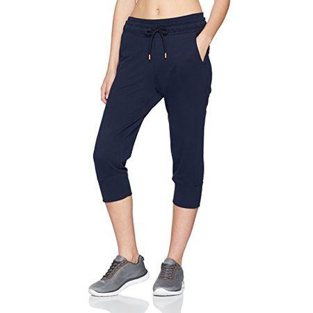 ESPRIT Sports Damen Sporthose 048EI1B015, Blau (Navy 400), 40(Herstellergröße: L)