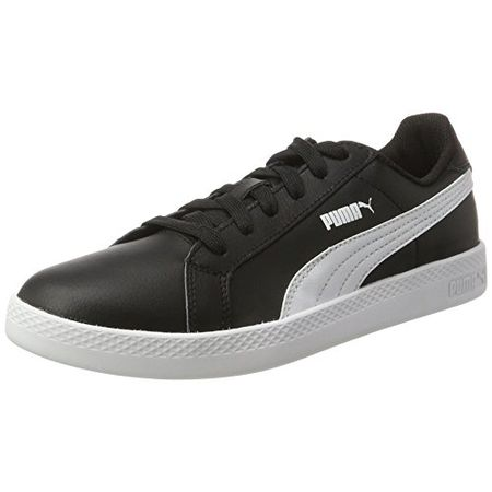 Puma Smash L, Damen Sneaker, Schwarz (Black White 01), 37 EU (4 UK)
