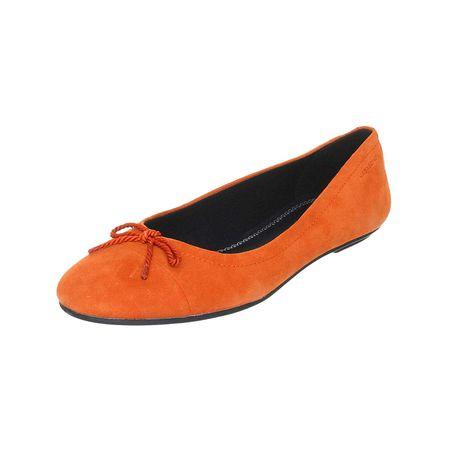 VAGABOND Ballerinas Klassische Ballerinas orange Damen