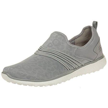 Skechers Damen Sneaker Microburst Under Wraps Grau, Schuhgröße:EUR 41