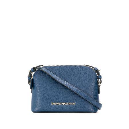 f298fef105747 Emporio Armani Klassische Schultertasche - Blau