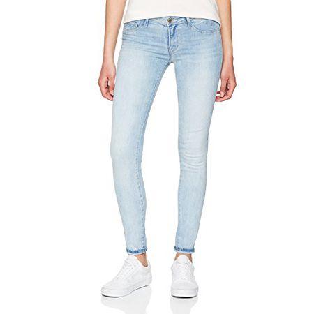 Luxusmode neue hohe Qualität verrückter Preis Tally Weijl Damen Skinny Jeans SPADEGAGA11, Blau (Denim Blue-Ehbl Ehbl), 36