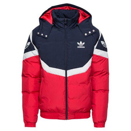ADIDAS ORIGINALS Jacke dunkelblau rot weiß