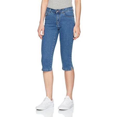 VERO MODA Damen Skinny Jeanshose 10138675 VMSEVEN NW S.S SMOOTH JEANS