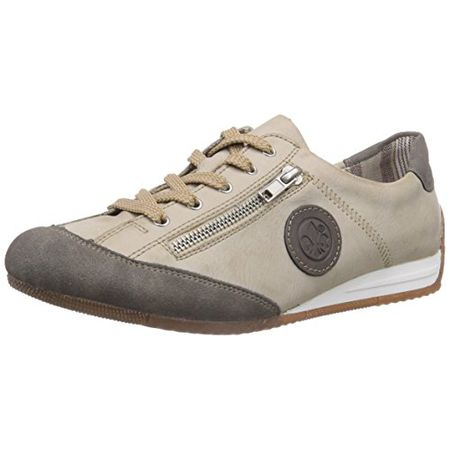 36fd0992ad73 Rieker L9044 Women Low-Top, Damen Sneakers, Weiß (staub offwhite