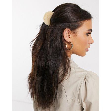 2x Haarklammer Haarspange Schleife Kinder Mädchen Stoff Haarschmuck K309