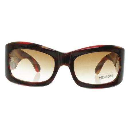 d8e769b6f8ccfb Missoni Sonnenbrille mit Streifenmuster