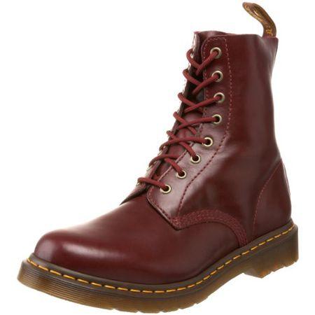 Dr. Martens PASCAL Buttero SHIRAZ, Damen Combat Boots, Rot (Shiraz), 42 EU (8 Damen UK)