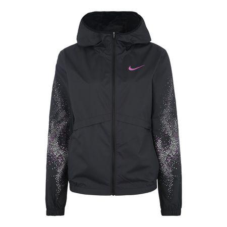 Nike Performance Dri FIT Shimmer Kapuzenjacke Damen schwarz Damen Gr. 40