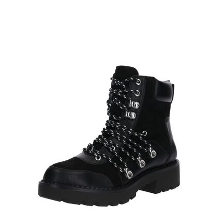 Buffalo Damen Stiefel Stiefelette Boots 30635 Schwarz