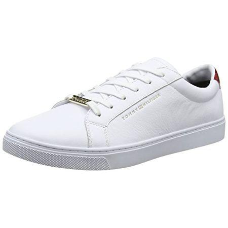 5410ac0289edaa Tommy Hilfiger Damen Essential Sneaker, Weiß (RWB 020), 37 EU
