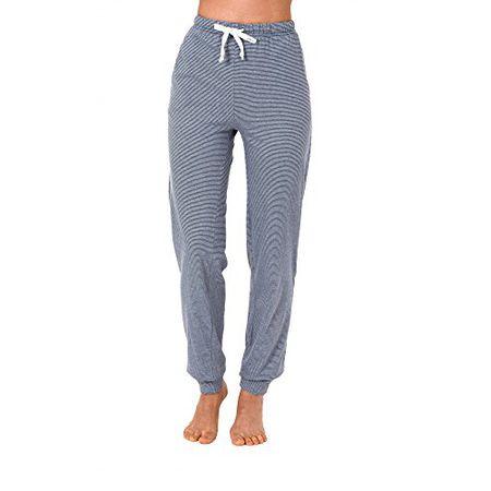 Damen Pyjama Capri Hose 34 lang Mix Match ideal zum