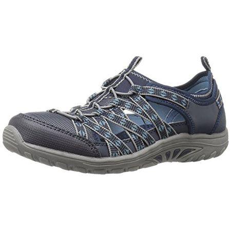 Skechers Damen Go Walk 4 Propel Sneakers, Schwarz (BBK
