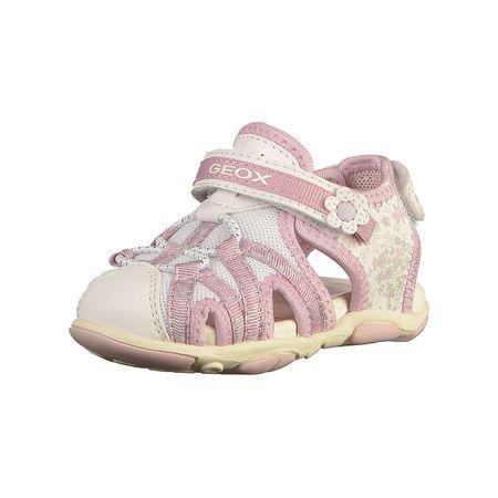GEOX Baby Sandalen für Mädchen weiß kombi Mädchen