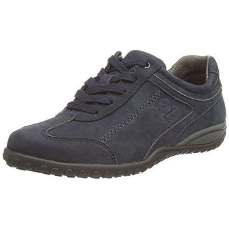 Gabor Tote, Damen Sneakers, Blau Dark Blue (Dark Blue Nubuck) Größe: 42 (8 UK)
