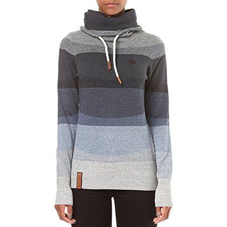 Naketano Damen Sweater Joao Schmierao III Pullover