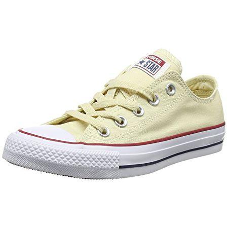 Converse Sneakers Chuck Taylor All Star M9165, Unisex Erwachsene Sneakers, Weiß (Natural White), 44 EU (10 Erwachsene UK)