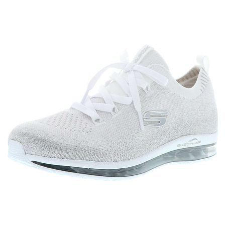 SKECHERS SKECHERS 12647WSL Skech Air Element Sweet Sunset Damen Sneaker weißsilber Sneakers Low weiß Damen