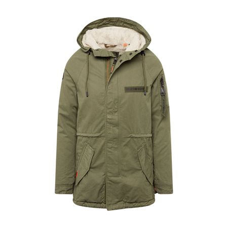 Superdry Parka 'ROOKIE DOWN' in burgunder | ABOUT YOU