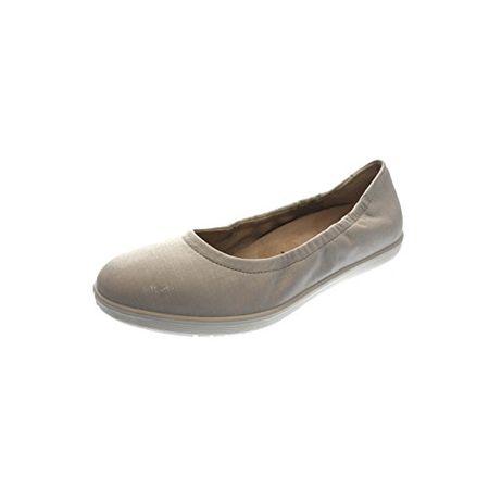 36633e12a100a8 Superfit Legero Damen Ballerina Slipper Maleo Offwhite Kombi (Weiß) 2-00830-