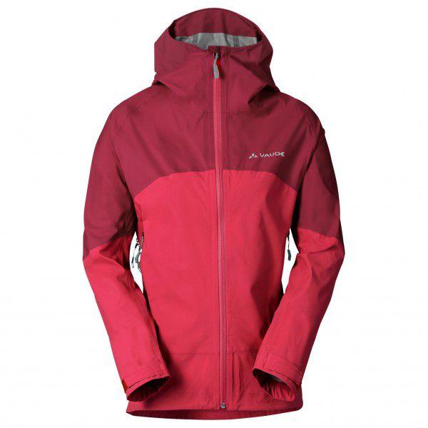 Vaude - Women's Croz 3L Jacket II - Hardshelljacke Gr 34 rosa/rot